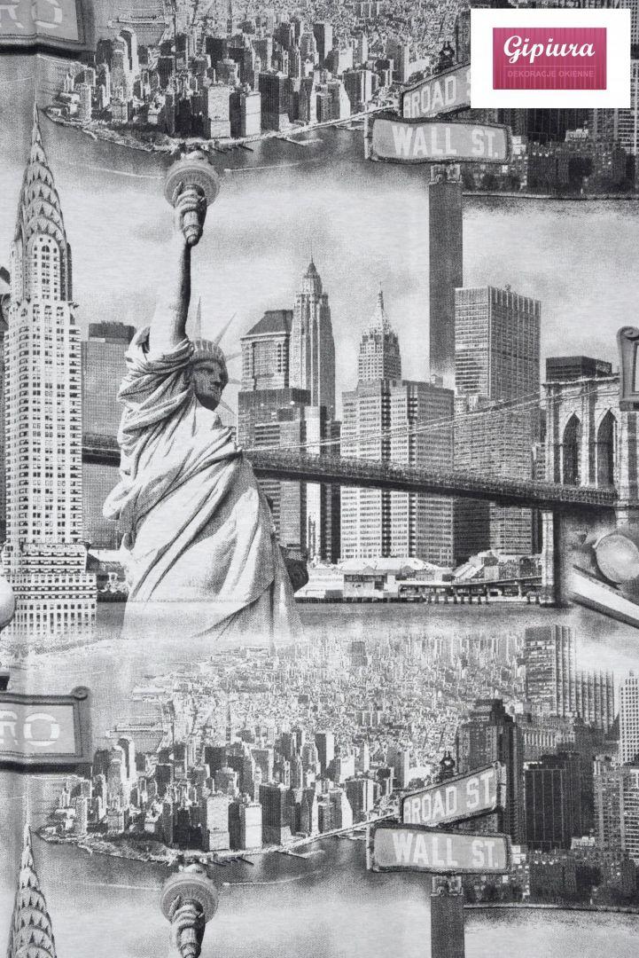 Tkanina Zasłonowa Nowy Jork Tkaniny Gipiura